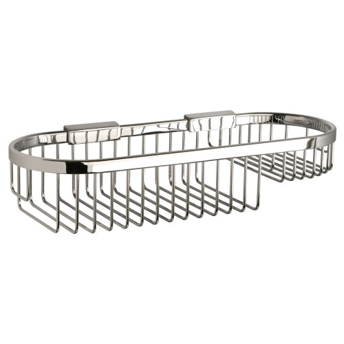 Miller Of Sweden Oval Basket Chrome 350mm, Chrome