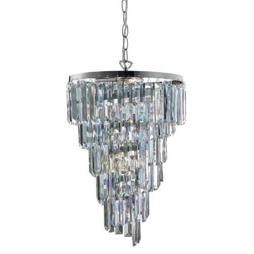 Casa Lancaster Droplet Light, Chrome
