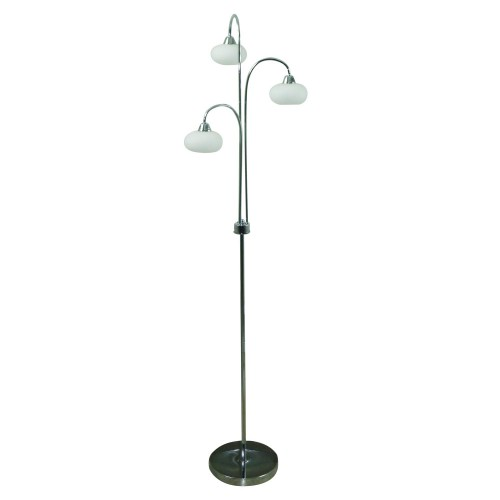 Casa Lovato Floor Lamp, Chrome