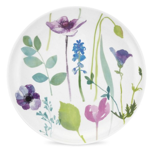 Water Garden Coup Side Plate, Multi