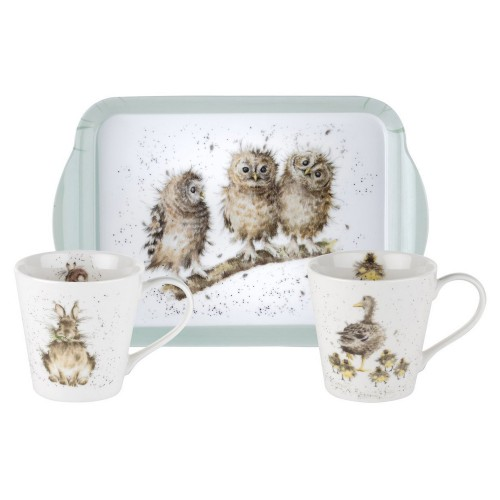 Wrendale Wrendale Mug & Tray Set