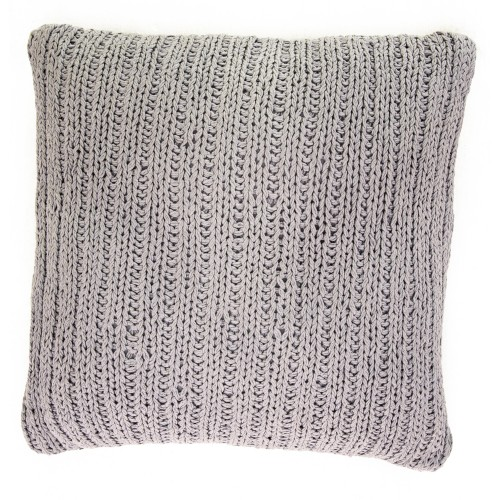 Casa Tinke Knit Cushion, Grey