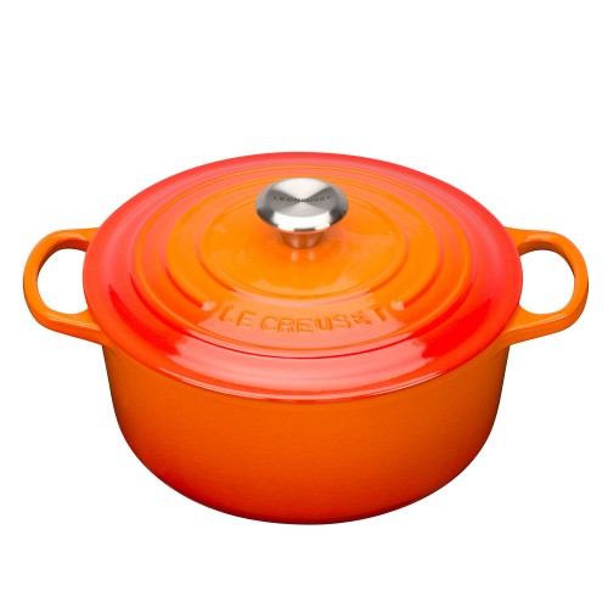 Le Creuset Round Casserole Dish 26cm, Volcanic