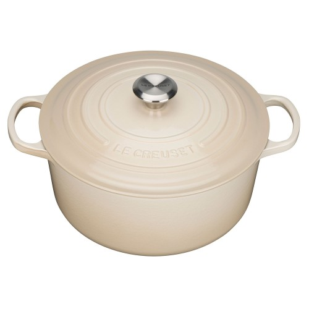 Le Creuset Round Casserole Dish 28cm, Almond