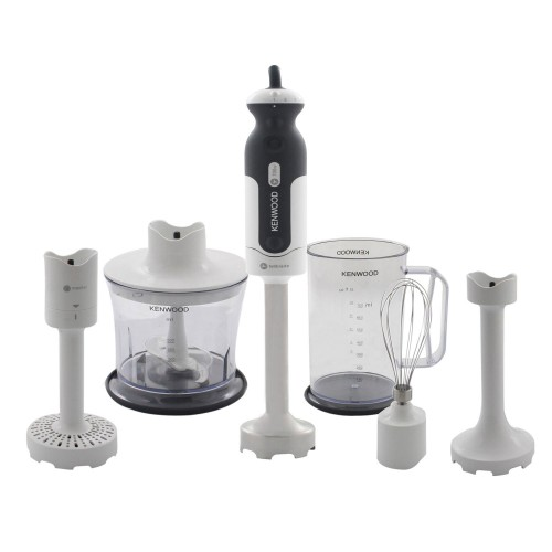 Kenwood Hdp406wh Triblade Handblender, White / Grey