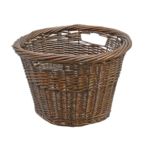 Manor Tanner Round Log Basket, Willow