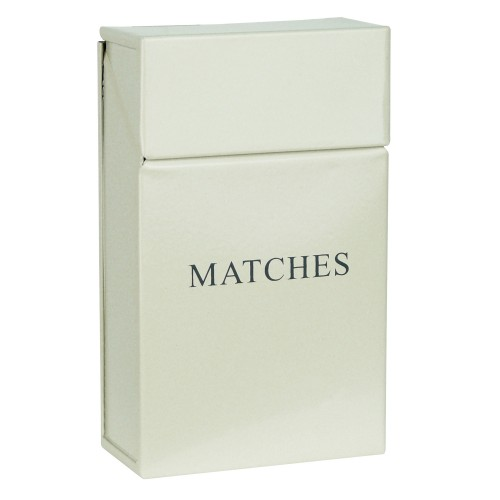 Manor Match Holder, Cream