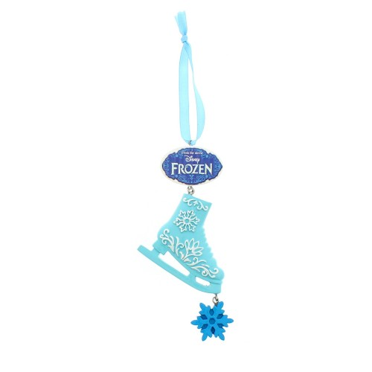 Festive Frozen Ice Skate Hanging Decoration