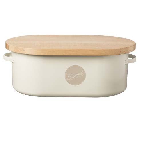 Typhoon Bread Bin, Cream