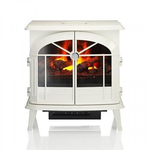 Dimplex Meribel Electric Stove, Cream