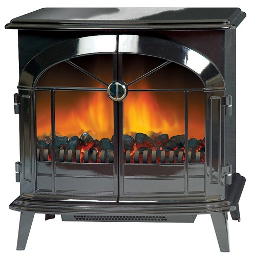 Dimplex Stockbridge Electric Stove, Black