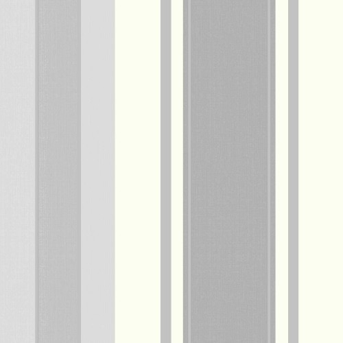 Arthouse Palazzo Stripe White Platinum, White/grey