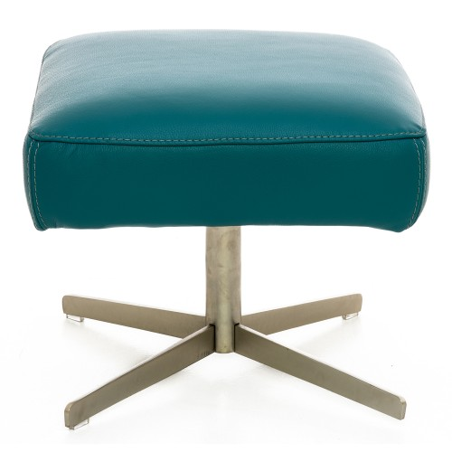 Casa Swing Footstool Footstool, Turquoise Blue