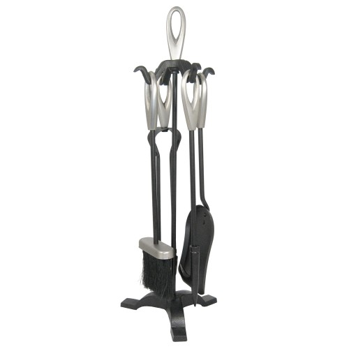 Manor Onion Loop Companion Set, Black/pewter