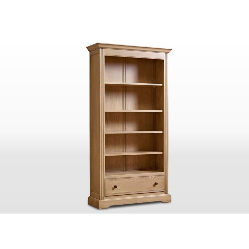 Old Charm Bookcase With Drawer