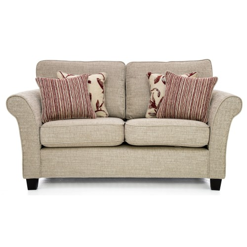 Casa Lucille Small Sofa (high Back) 2 Seat, Corinne Beige