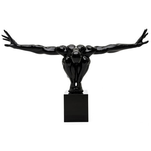 Casa Figure Sculpture Large, Black