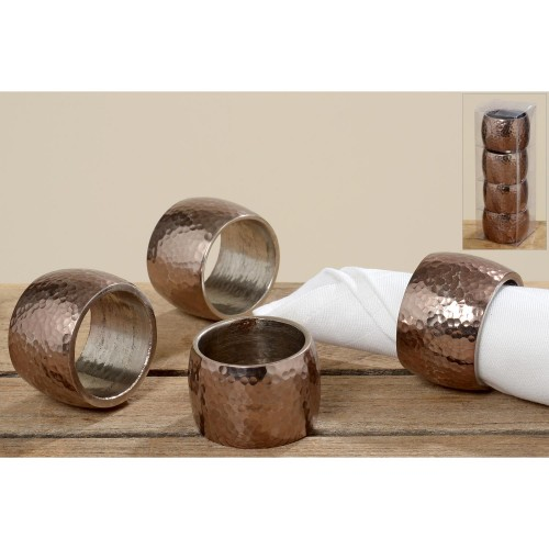Boltze Napkin Ring Filou, Brown