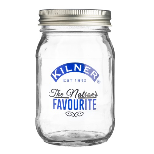 Kilner Nation's Favourite Glass Jar, 0.4l