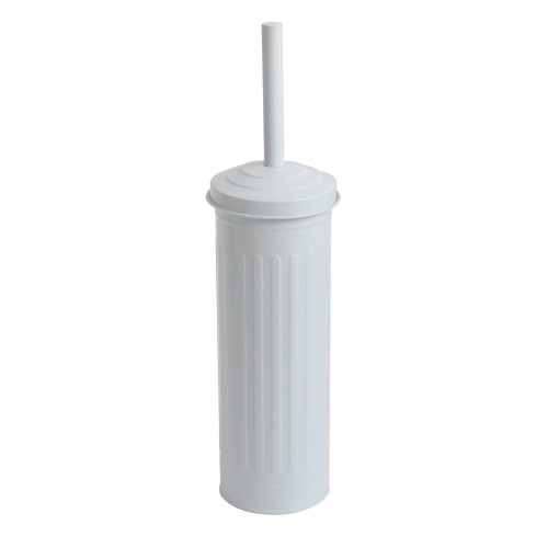 Lloyd Pascal Retro Painted Toilet Brush, White