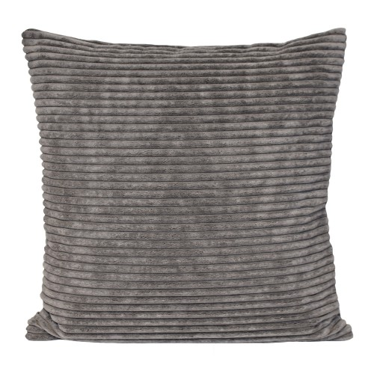 Casa Corduroy Cushion, Grey