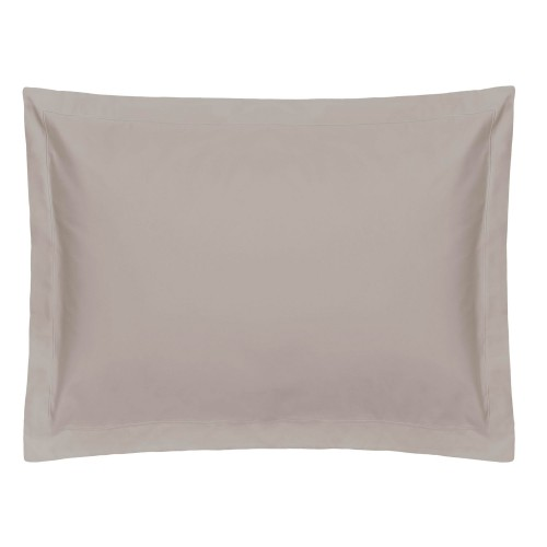 Belledorm Oxford Pillowcase, Onesize, Pewter