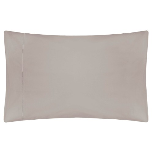 Belledorm Egyptian Cotton Pillowcase, Onesize, Pewter