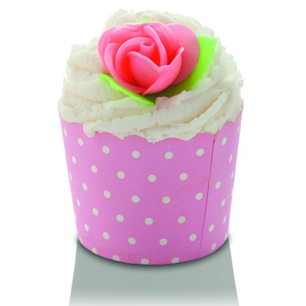 Bomb Cosmetics Pink Polkamallow, Cream