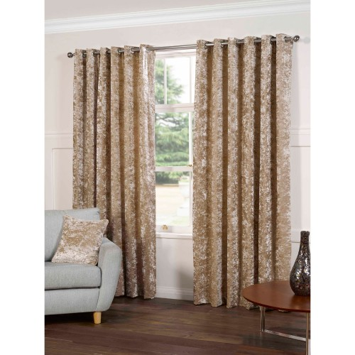 Gordon John Plush Curtains, 117x229, Silk
