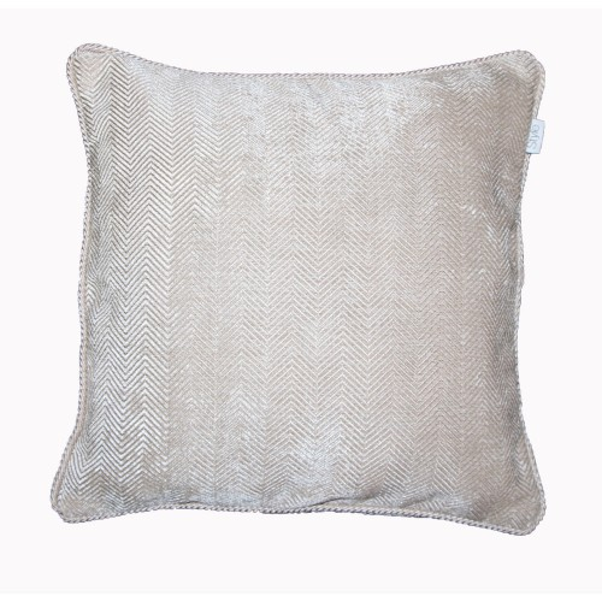 Gordon John Emperor Feather Filled Cushion Onesize, Stone