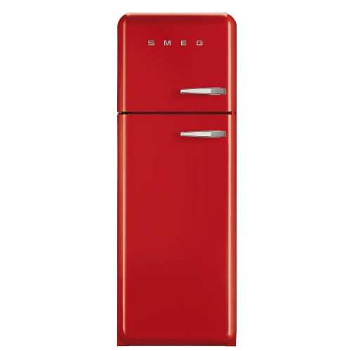 Smeg FAB30LFR Fridge Freezer, Red