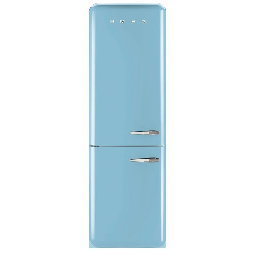 Smeg FAB32LNA Fridge Freezer, Pastel Blue