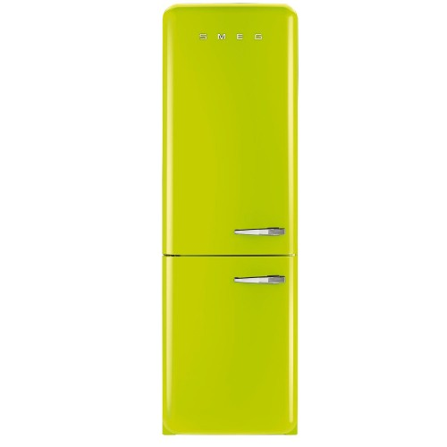 Smeg FAB32LNG Fridge Freezer, Pastel Green