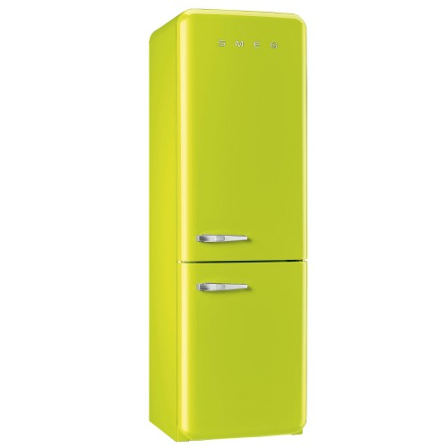 Smeg FAB32RNL Fridge Freezer, Lime
