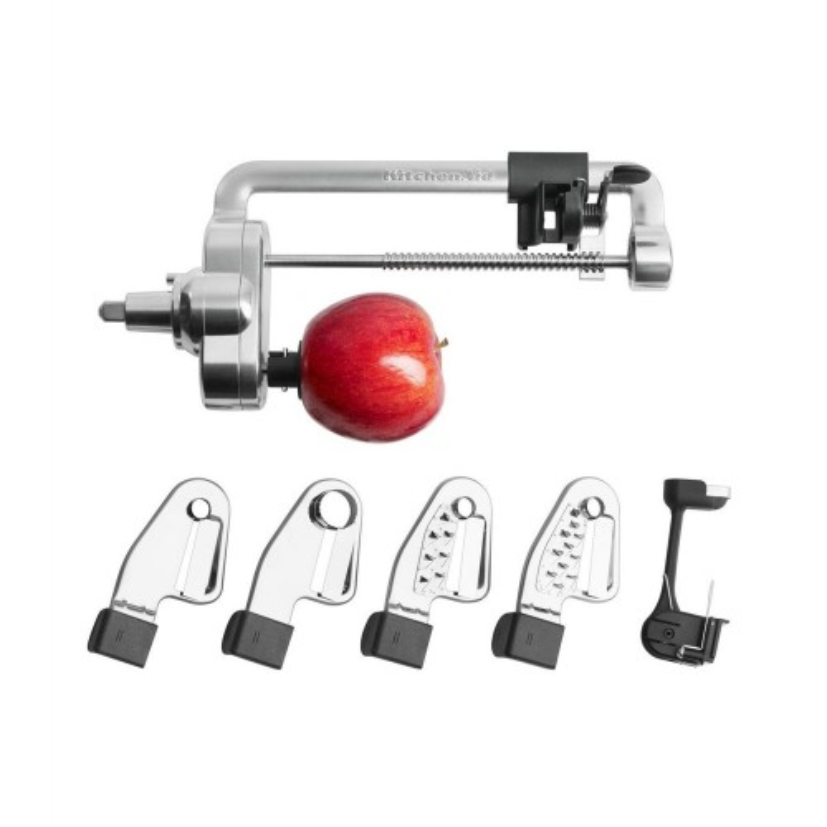KitchenAid 5KSM1APC Spiraliser with peel, core and slice