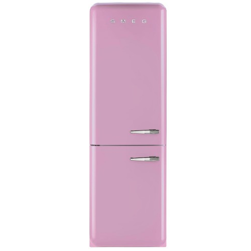 Smeg FAB32LNP Fridge Freezer, Pink