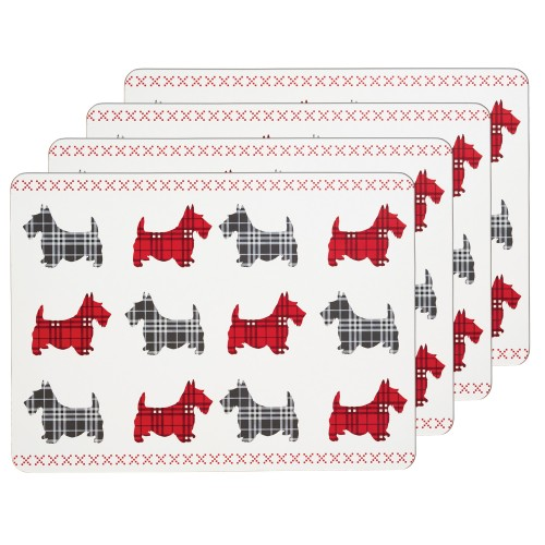 Kitchencraft Scottie Dog Placemat Set