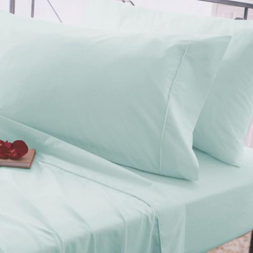 Casa Flat Sheet King King, Duck Egg