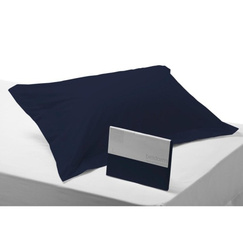 Belledorm 200 Thread Count Oxford Pillowcase, Onesize, Navy.