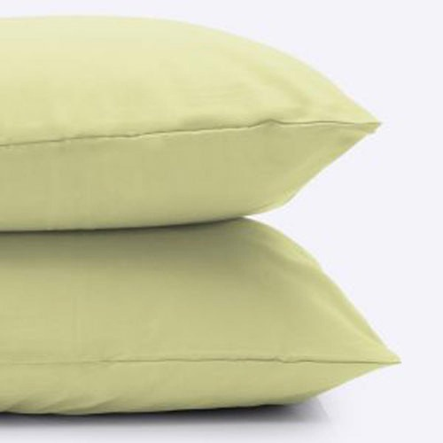 Belledorm 200 Thread Count Pillowcase, Onesize, Olive.