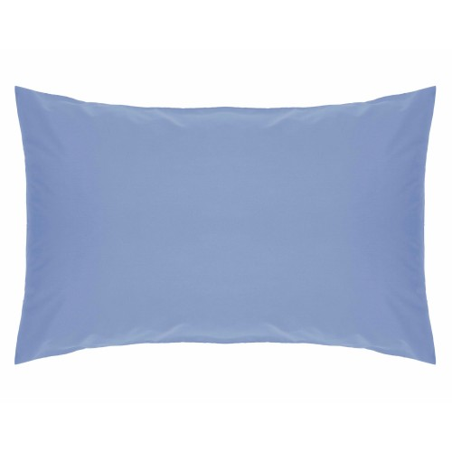 Belledorm 200 Thread Count Pillowcase, Onesize, Sky Blue