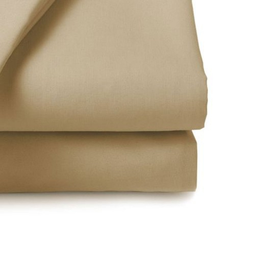 Belledorm 200 Thread Count Fitted Sheet, 4ft, Walnut Whip