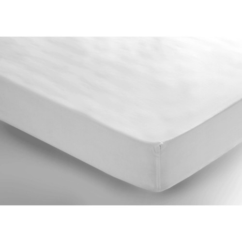 Belledorm 200 Thread Count Fitted Sheet, 4ft, White
