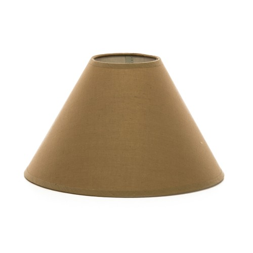 "Hard Back Coolie Shade 12"", Mocha"