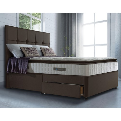 Sealy Tara 2 Drw Divan Set Double Double