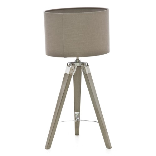 Casa Metro Table Lamp, Washed Grey