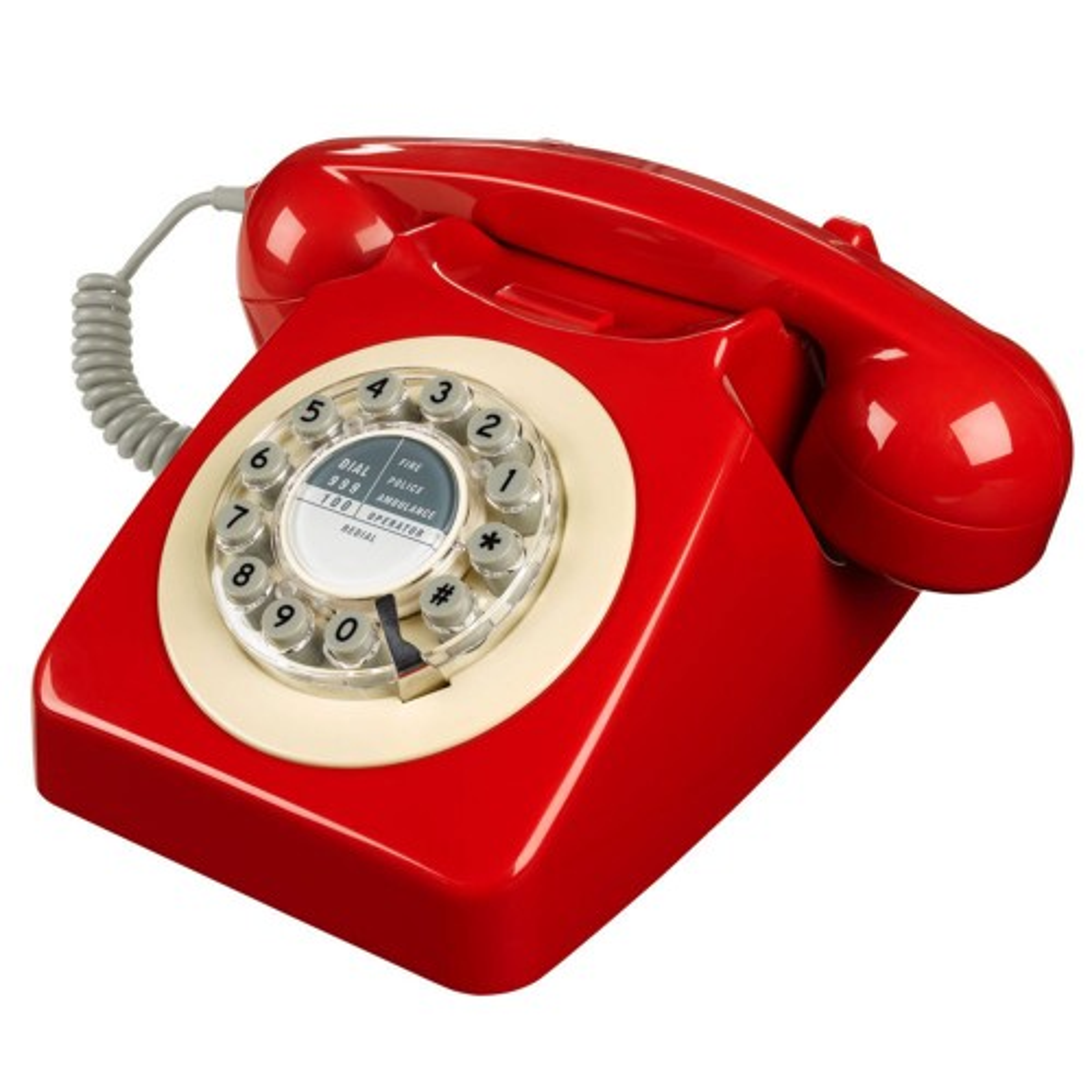 Wild & Wolf 746 Red Telephone