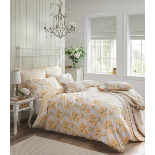 Carnation King Duvet Set, Primrose