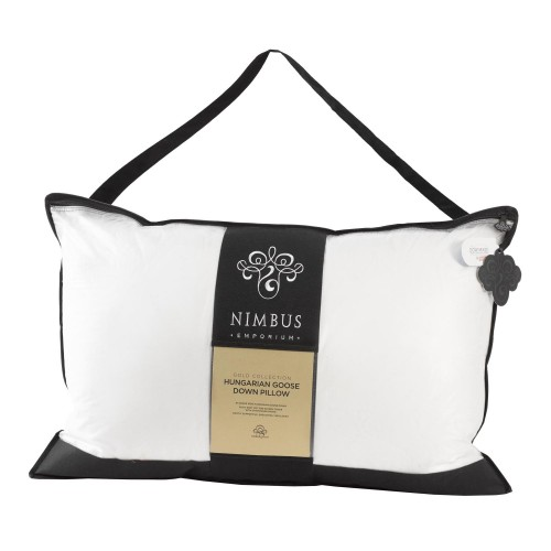 Trendsetter Nimbus Gold Collection Pillow, White