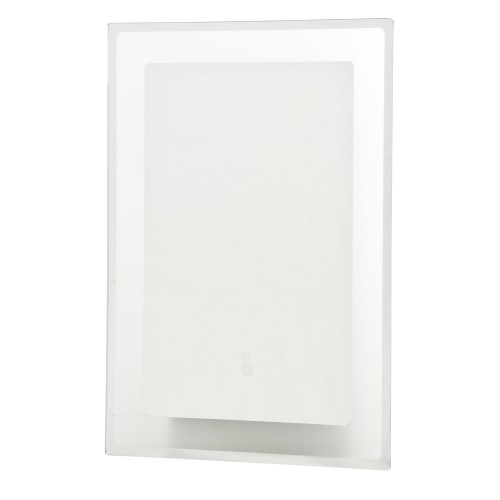 Casa Rhodes Led Mirror, Glass